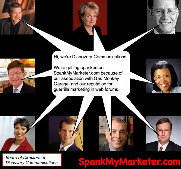 Discovery Communications on SpankMyMarketer.com