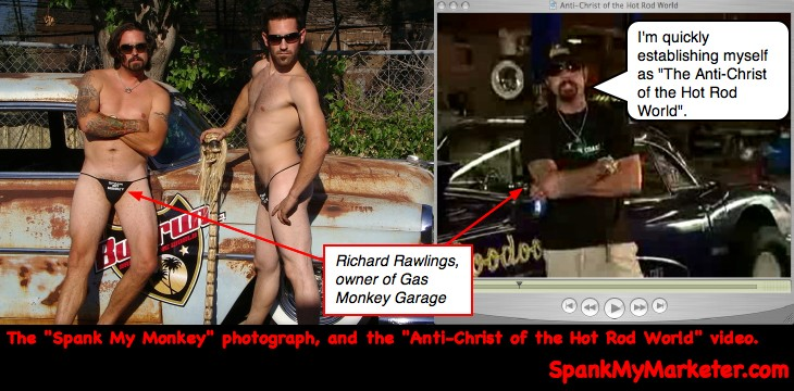 an analysis of the crucial scene of the video, where Richard Rawlings